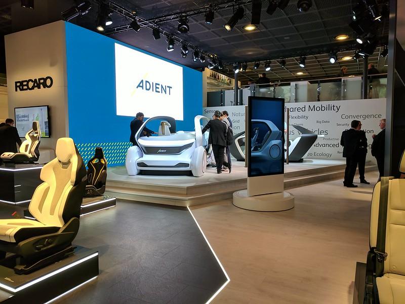 Adient Future Car Concept (IAA)