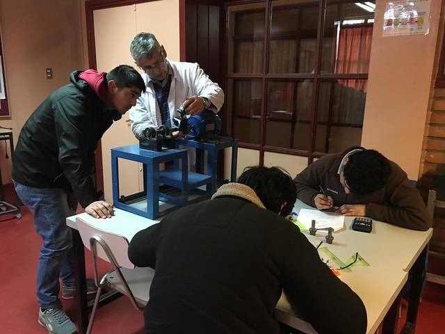 """Evaluación de competencias técnicas a trabajadores de """"Empresa Santa Beatriz, servicios industriales"""""""