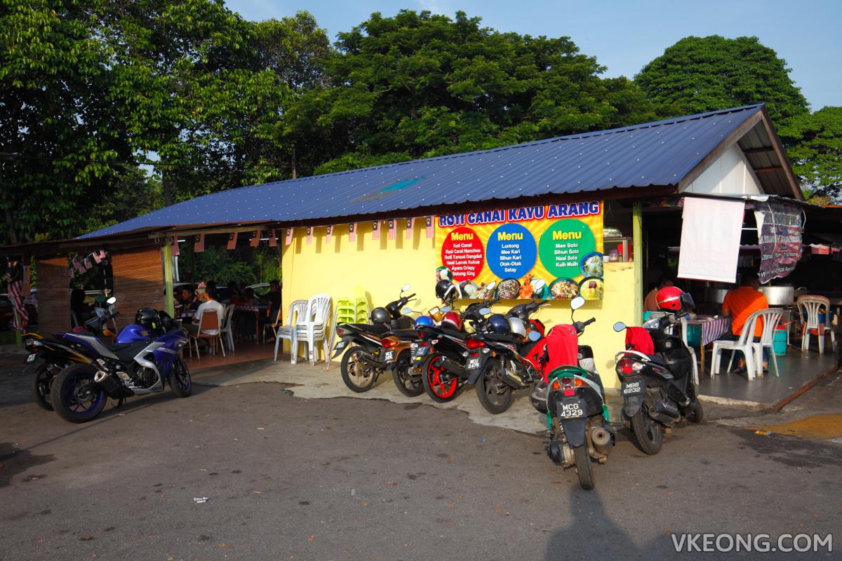 Melaka Roti Canai Kayu Arang