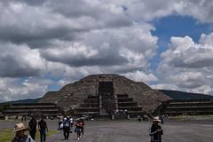 Pyramid of the Moon at Teotihuacan