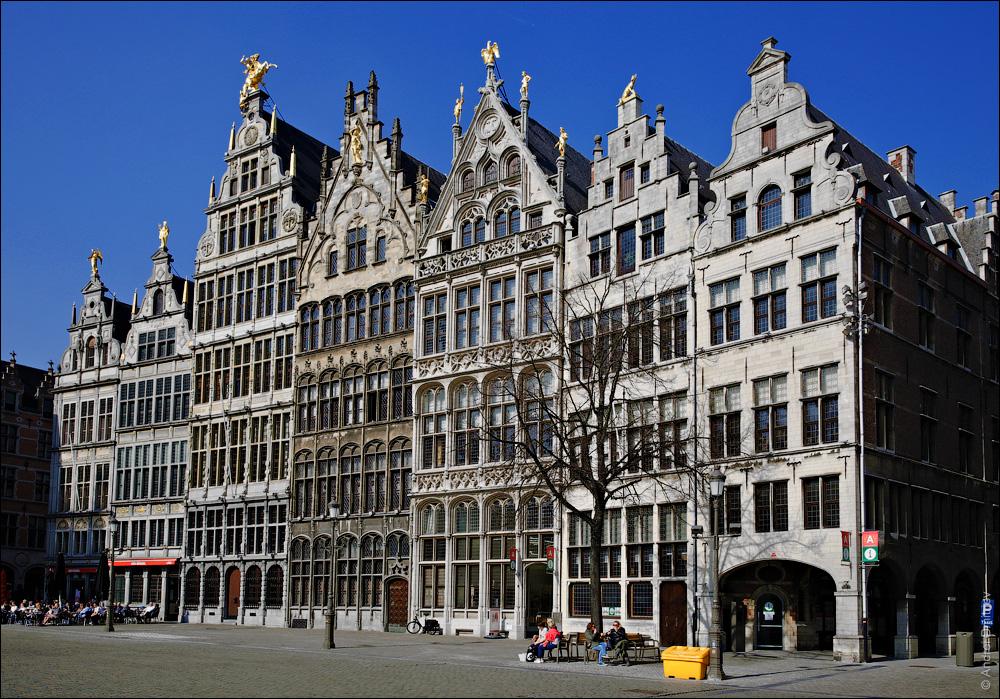 Гроте-Маркт, Антверпен, Бельгия