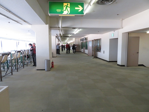 佐賀競馬場の指定席フロア