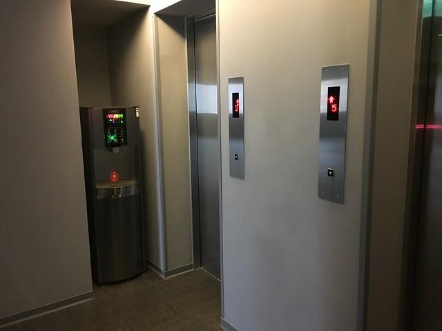 電梯旁有飲水機@宜蘭捷絲旅礁溪館