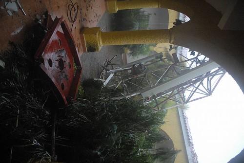 Afectaciones tras el paso del huracán Irma por Cayo Coco