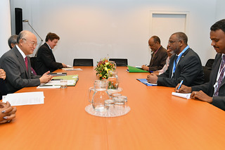Bilateral Meeting with Mutaz Musa Abdalla Salim (01116483)