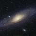 Andromeda Galaxy by kaz under the sky