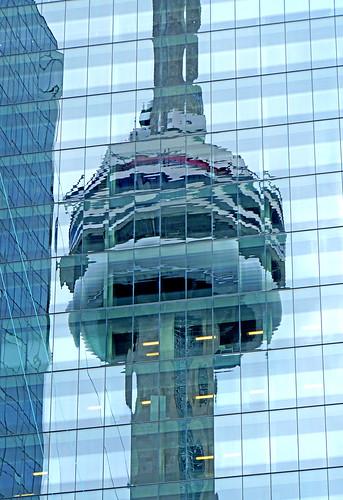 DSC08939 - CN Tower Reflection