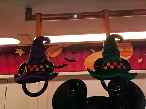 Halloween in the monorail