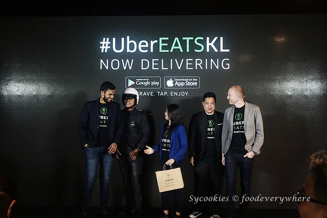 1.UberEATS launches in Malaysia