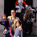 Wenji, Audrey and Grace at Household Cavalry Museum