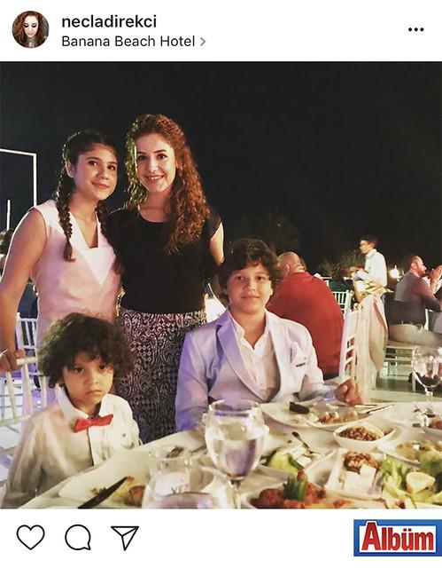 Necla Direkçi, Necla Direkçi, Banana Beach Hotel'de katıldığı düğün töreninden bu fotoğrafı paylaştı.