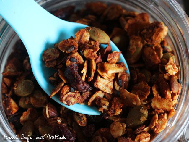 純素花生醬燕麥穀片 Vegan Peanut Butter Granola (5)