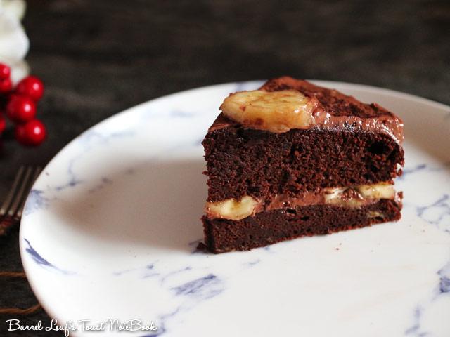 香蕉摩卡巧克力蛋糕 banana-mocha-chocolate-cake-mocha-frosting (6)