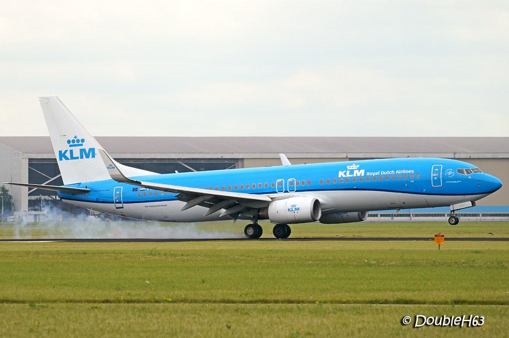 B738 KLM AMS