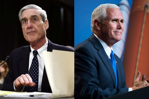 MIKE PENCE IS TOTALLY DOWN TO COOPERATE WITH BOB MUELLER