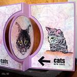 Rita B poezenkaart inspired by w.s. Linda O-002