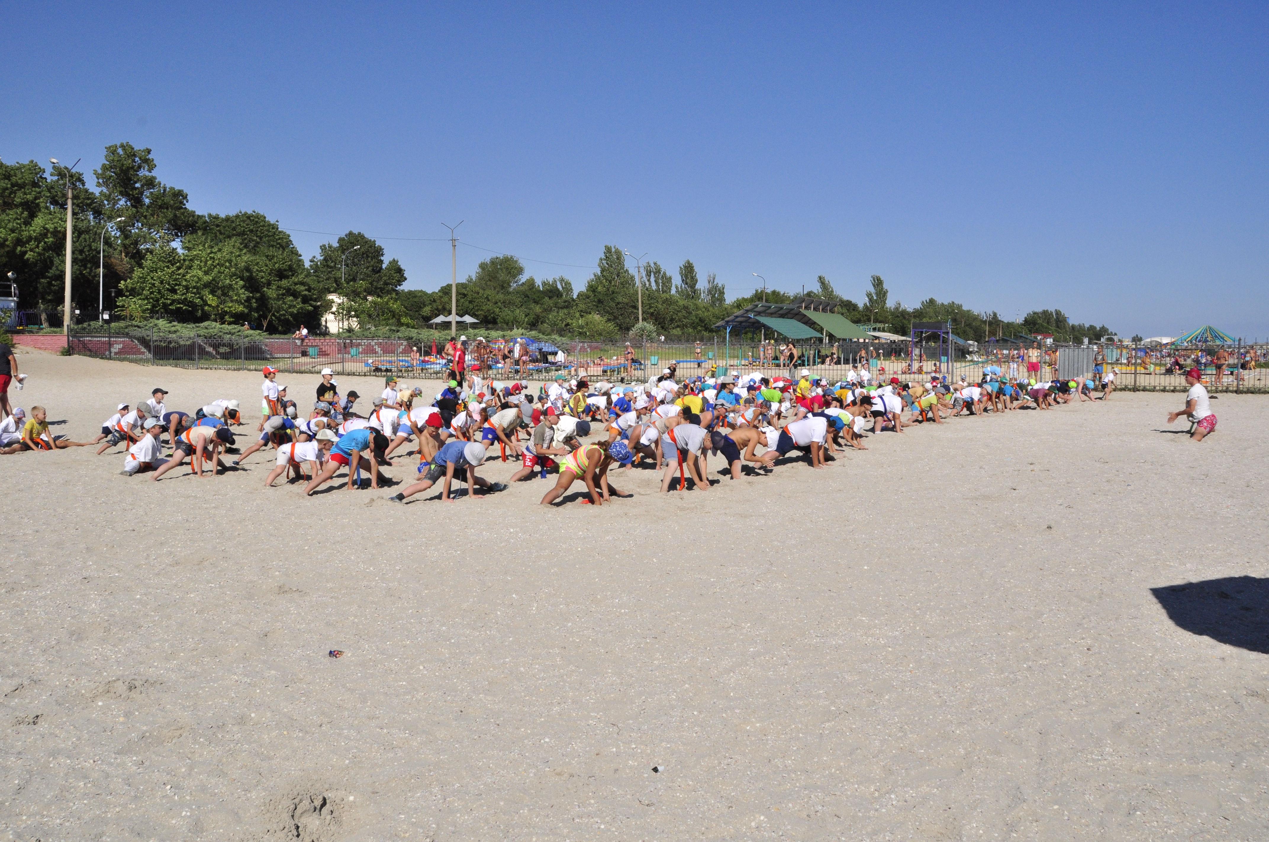 2017-07-31 Летний лагерь под руководством Всеволодова С.С. WKB Скадовск