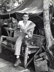 Corporal Anthony C. Medin, Guadalcanal, circa 1942