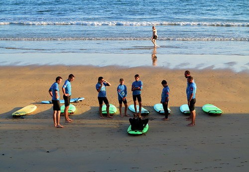 Curso de surf......