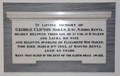 died at Kisumu, Kenya