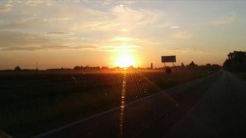 La strada verso il sole!