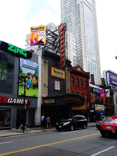 Ed Mirvish Theatre, on Yonge Street, 2017 08 23