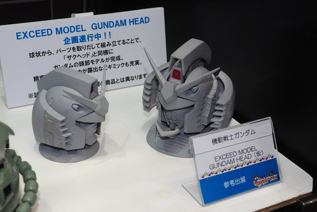Exceed Model Gundam Head