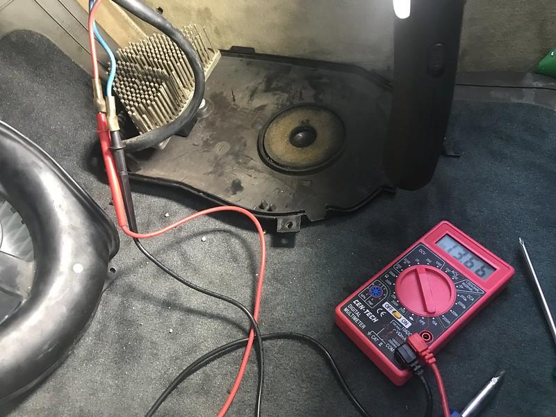 Blower Voltage