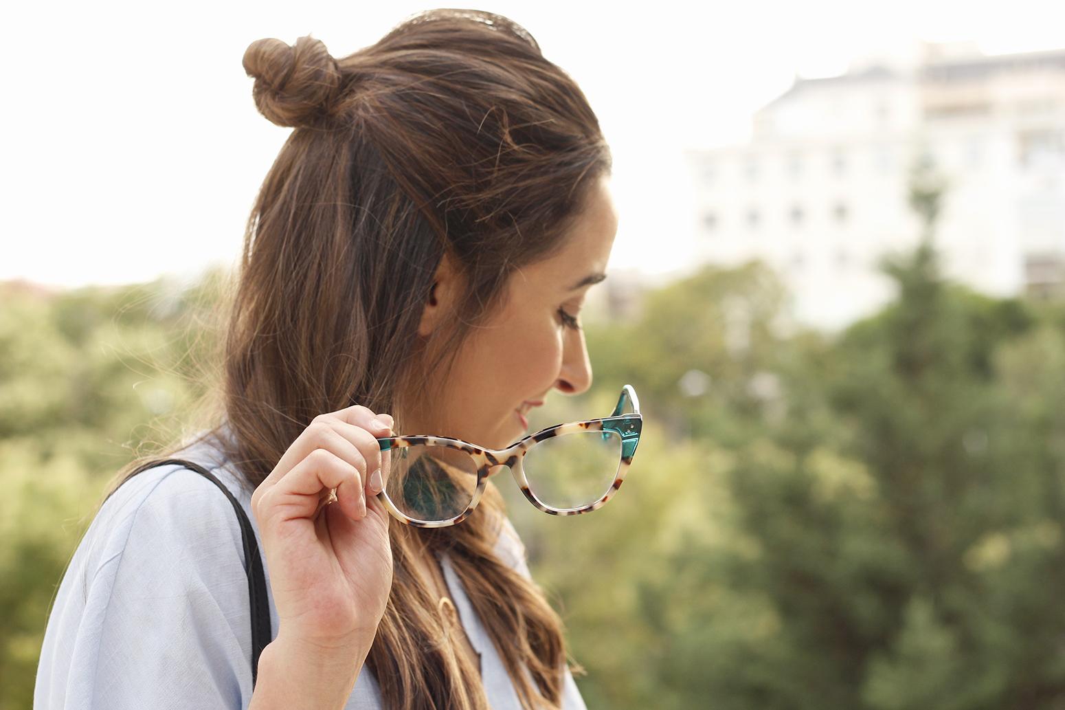 gafas graduadas mujer óptica Rínivi Madrid diseño vanguardia01