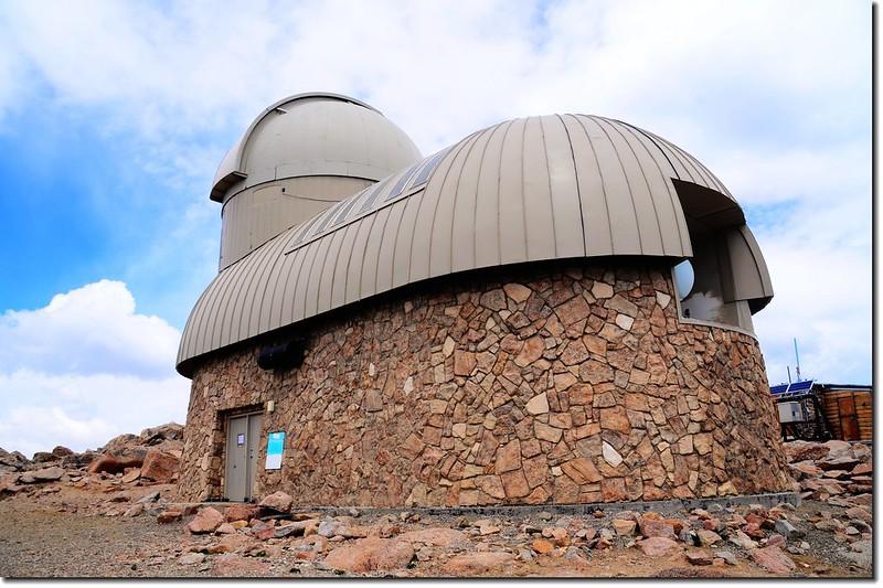 Meyr Womble observatory(Elev. 14125 ft.) 1
