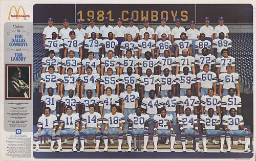 Dallas Cowboys 1981 Poster Front 300dpi FlickrFormat
