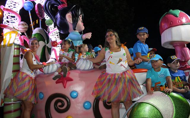 Cabalgata fiestas Argés 2017