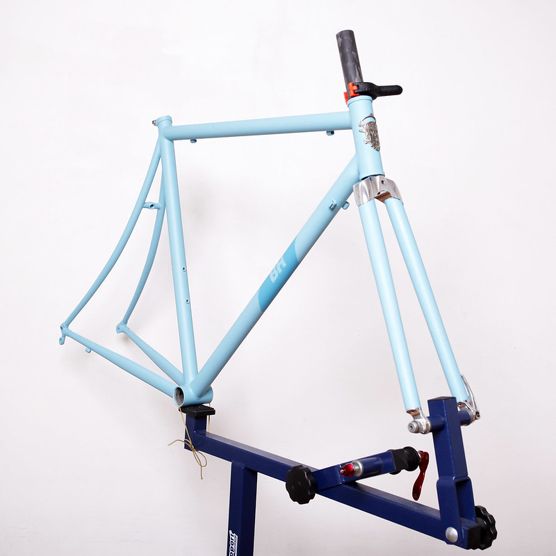 BH Deseo Frame & Wound Up Fork Repainted by Swamp Things.
