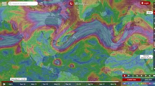 windy wind speed