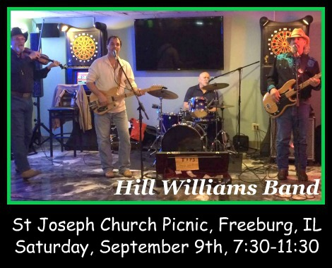 Hill Williams Band 9-9-17