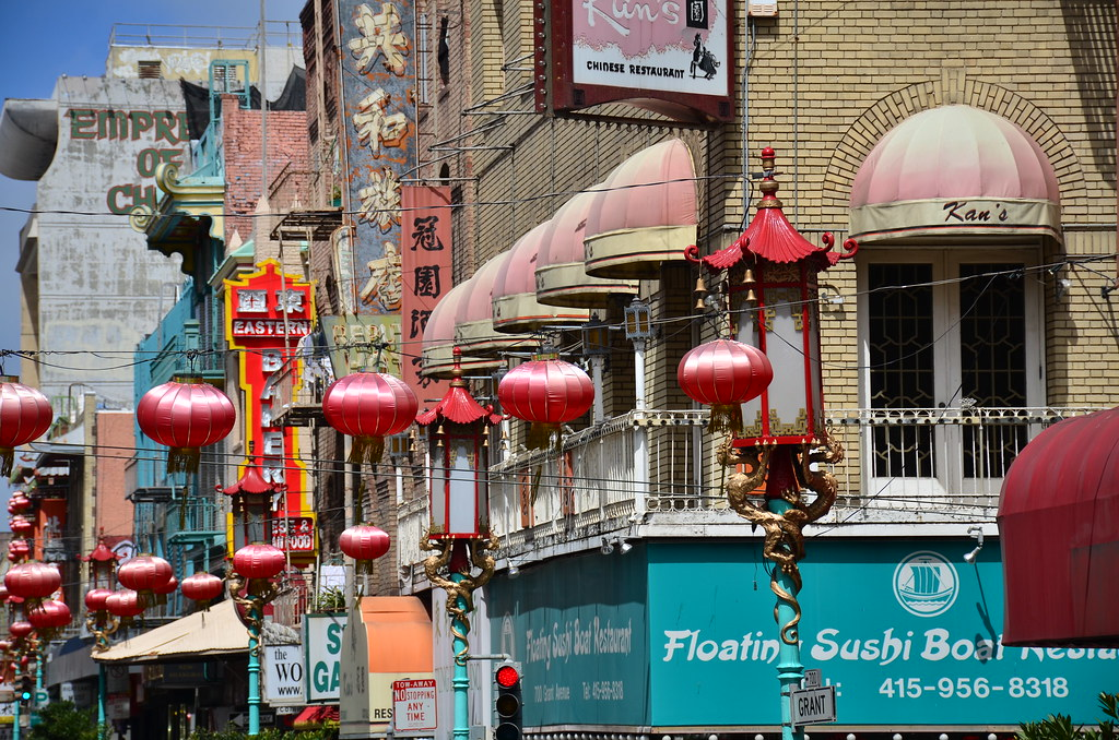 San Francisco: Chinatown 2017
