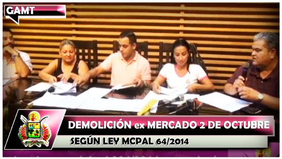 demolicion-ex-mercado-2-de-octubre-segun-ley-mcpal-64-2014