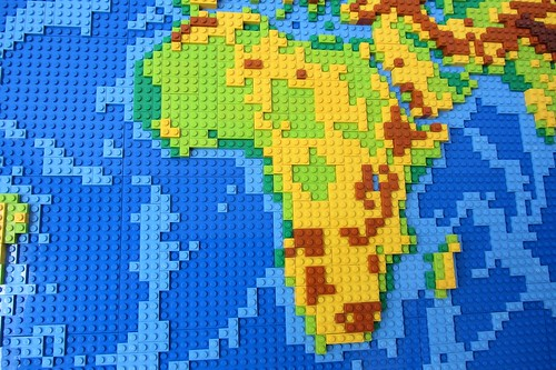 dirks LEGO world map 9 africa