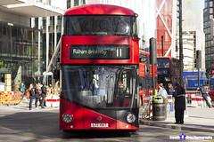 Wrightbus NRM NBFL - LTZ 1067 - LT67 - Fulham Broadway 11 - Go Ahead London - London 2017 - Steven Gray - IMG_6417