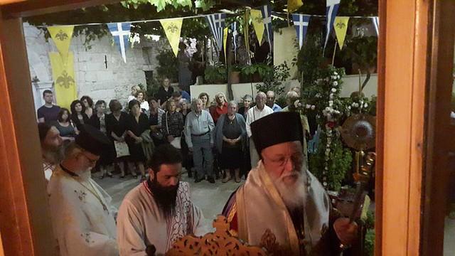 Παραμονή του Σταυρού στη Μονή Γοργοεπηκόου Νεστάνης