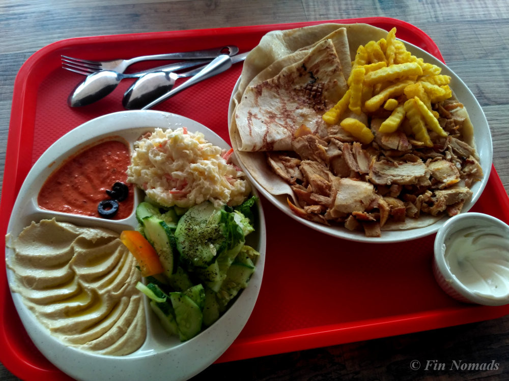 hummus plate penang