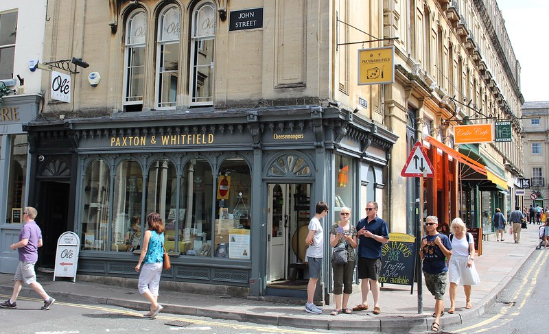 Cheese Shop, Bath, England