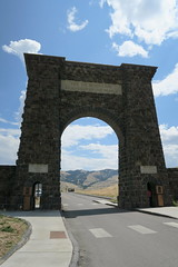 Roosevelt Arch, the West entrance