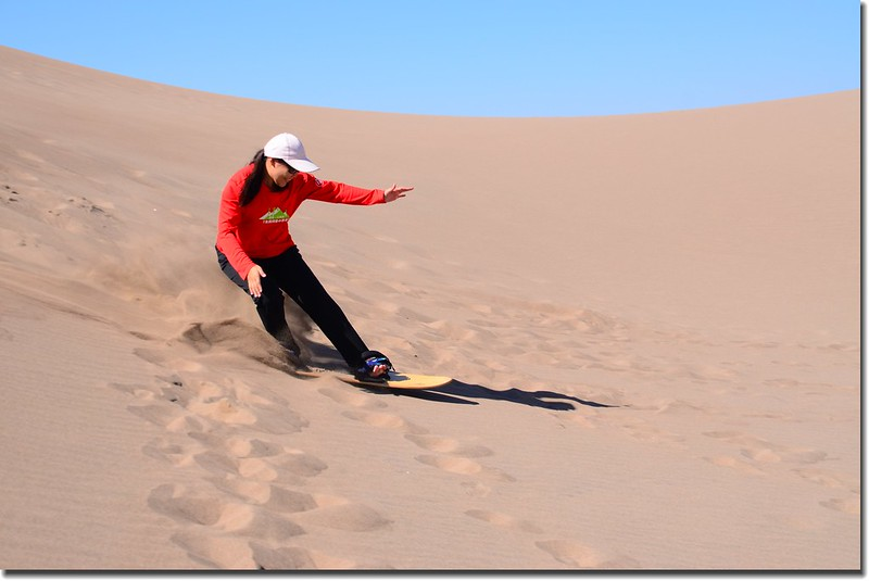 Sledding at Great Sand Dunes  (26)