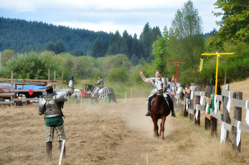 Shrewsbury Renaissance Faire Jousting @ Mt. Hope Chronicles