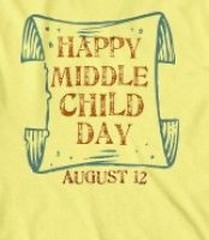 #happymiddlechildday today is Middle Child Day.. I have an amazing slightly older sister...then came me...then have a younger brother...you did notice that they stopped at a boy, didn't you 😊 ❤ 💜 💙