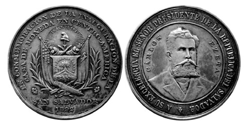 Medal Commemorating founding of the Central American Mint