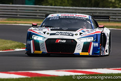 SAINTeLOC Racing Audi R8 LMS Blancpain Sprint Series Brands Hatch Sportscar Racing News
