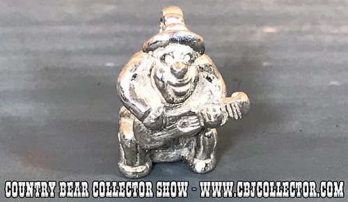 Vintage Disney Sterling Silver Big Al Charm - Country Bear Collector Show #116