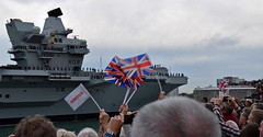 Welcome to HMS Queen Elizabeth's new home